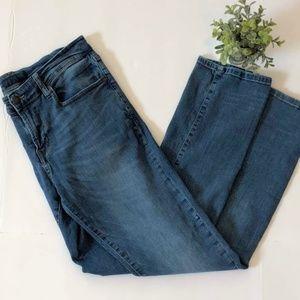 Men's Aeropostale 31/32 Slim Straight Jeans Denim